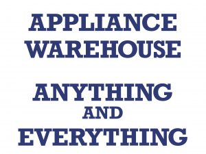 Appliance Warehouse 4x3 Banner